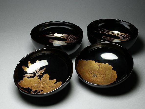 japanese gold lacquer,makie4-220