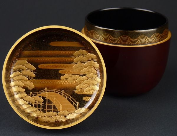 2-252japanese gold lacquer,makie