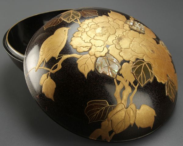 2-95japanese gold lacquer,makie