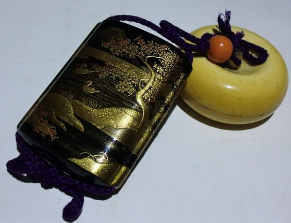 2-48japanese gold lacquer,makie