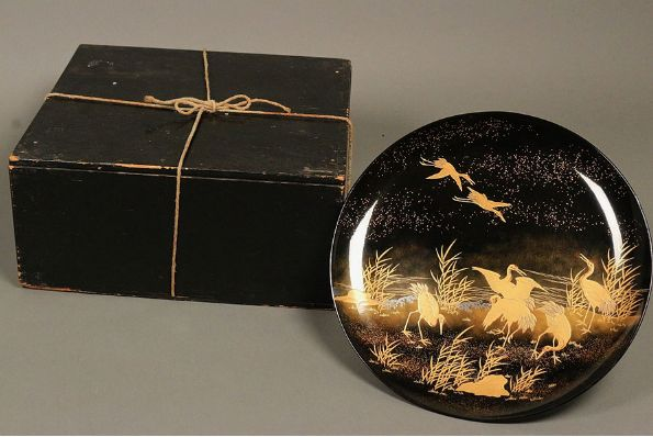 japanese gold lacquer,makie