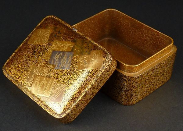 japanese gold lacquer,makie5-110