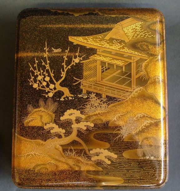 japanese gold lacquer,makie4-266