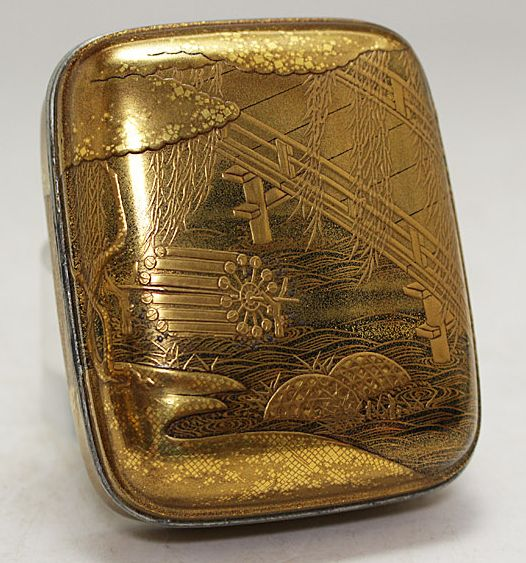 japanese gold lacquer,makie4-194