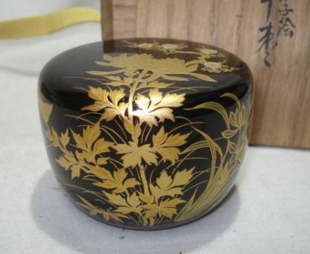 2-279japanese gold lacquer,makie