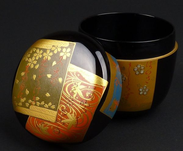 2-261japanese gold lacquer,makie