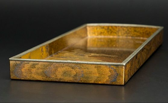 japanese gold lacquer Tray0912223810