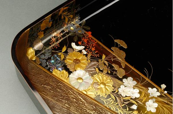 japanese gold lacquer,makie4-159