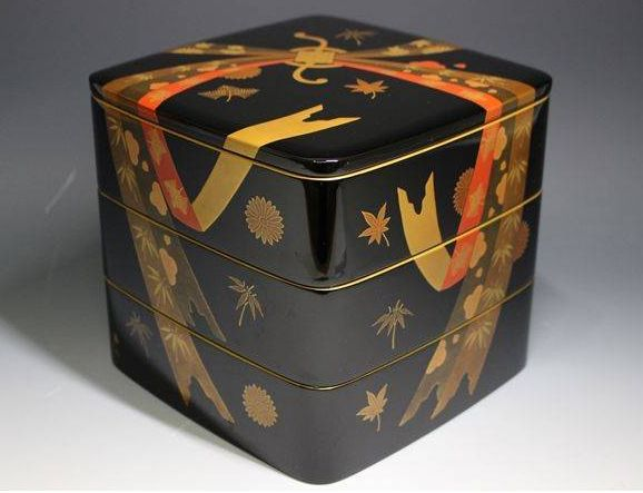2-183japanese gold lacquer,makie