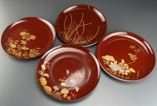 2-105japanese gold lacquer,makie