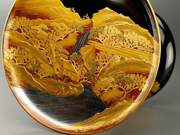 japanese gold lacquer,makieConfectionery bowl09112238