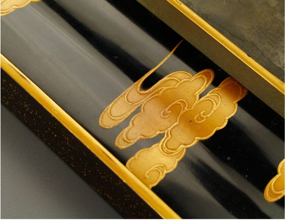 12japanese gold lacquer,makie Writing box09252219