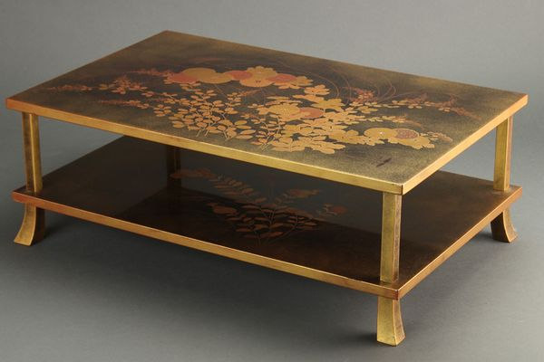 japanese gold lacquer,makie5-146