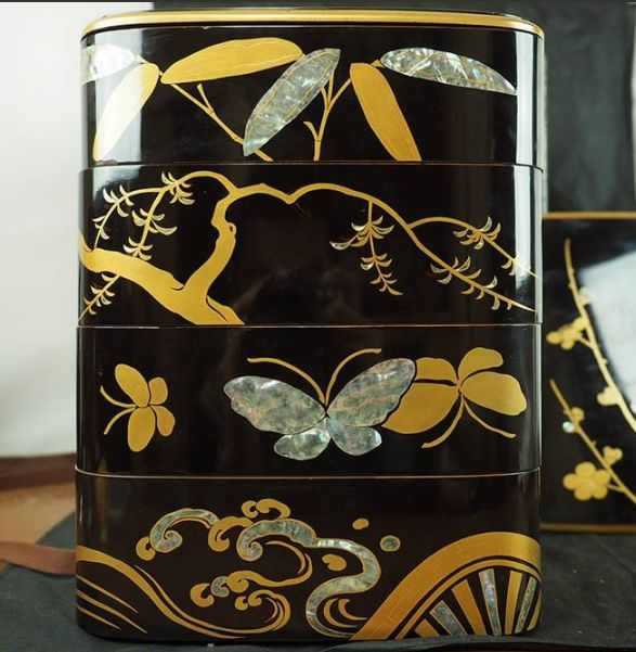 japanese gold lacquer,makie5-113