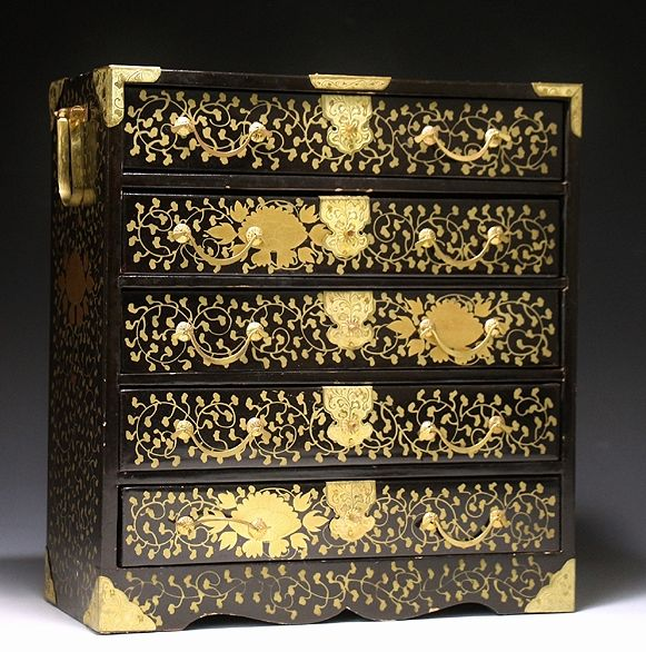 japanese gold lacquer,makie4-269