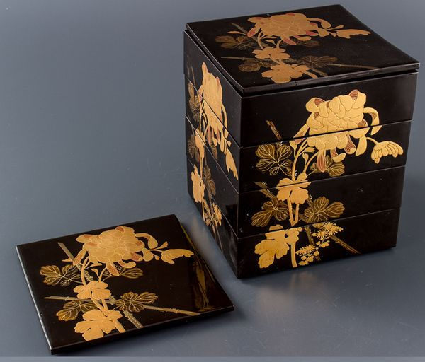 2-278japanese gold lacquer,makie