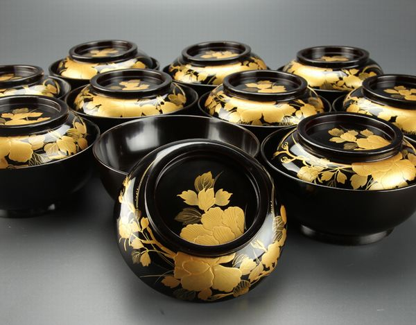 2-185japanese gold lacquer,makie