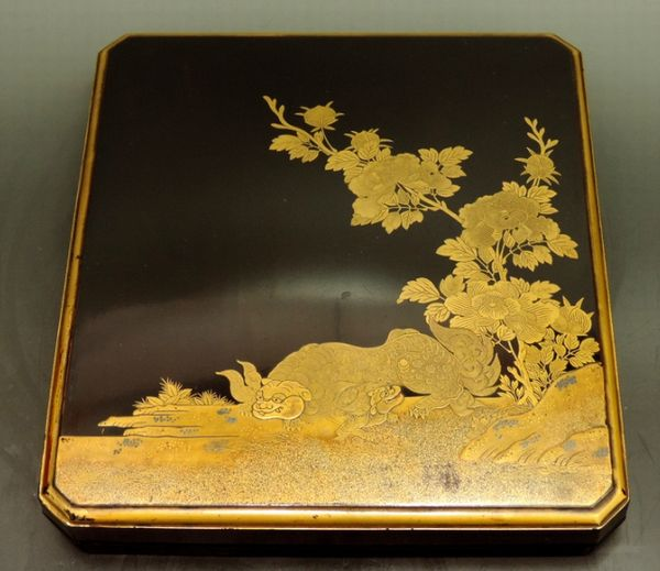 2-61japanese gold lacquer,makie