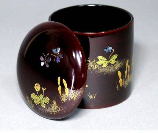japanese gold lacquer,makie4-295