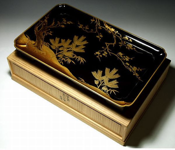 2-282japanese gold lacquer,makie
