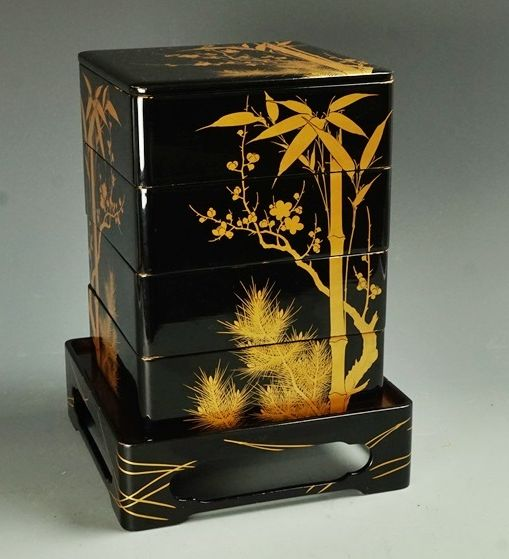 japanese gold lacquer,makie5-115