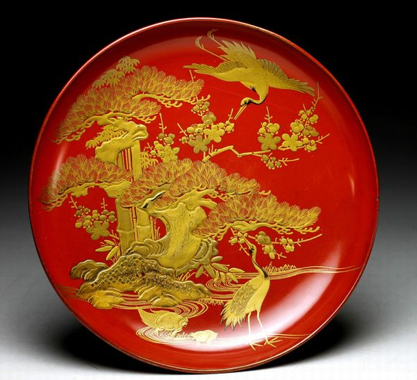 2-63japanese gold lacquer,makie