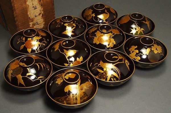 japanese gold lacquer,makie5-149