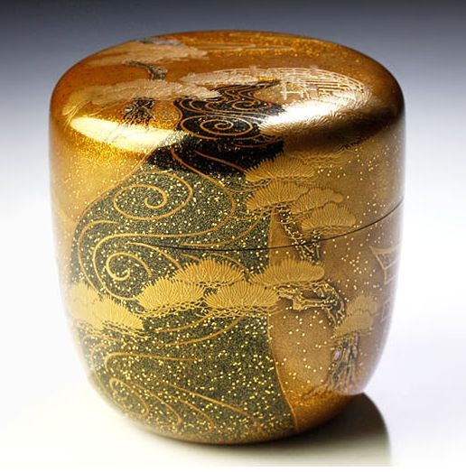 japanese gold lacquer,makie4-20