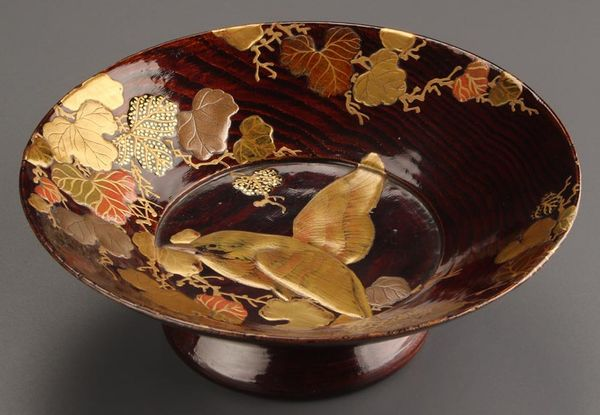 japanese gold lacquer,makie5-150