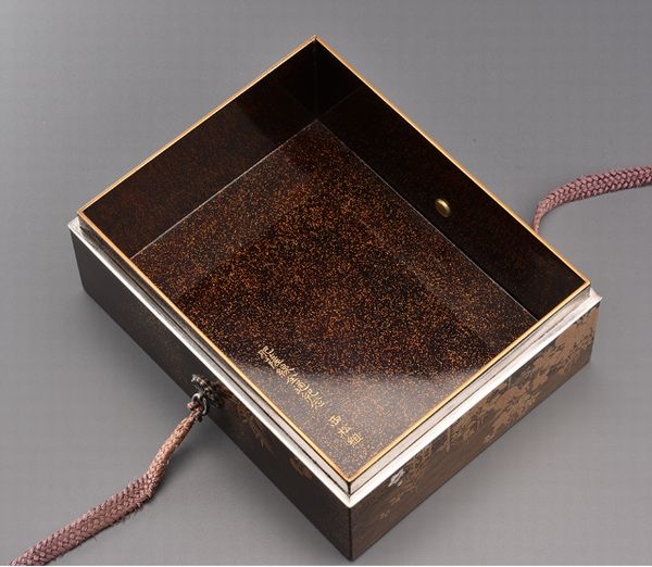 17japanese gold lacquer Writing box 09252252