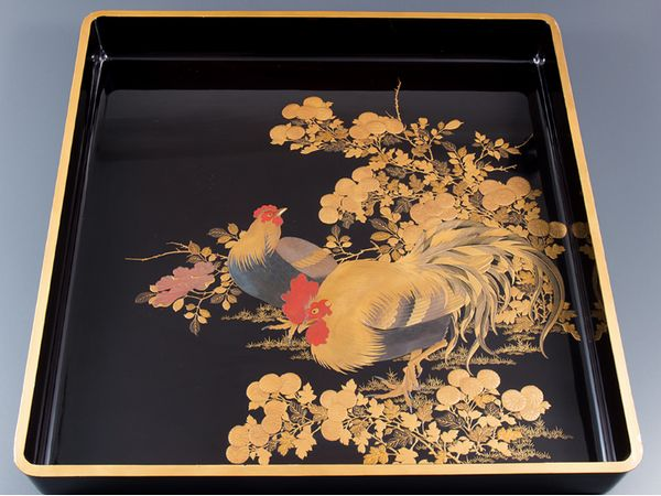 japanese gold lacquer,makie4-202