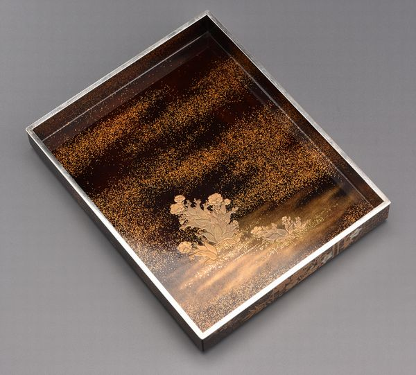 18japanese gold lacquer Writing box 09252252