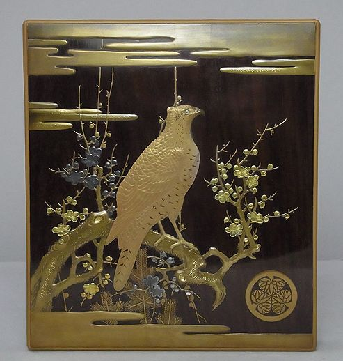 2-191japanese gold lacquer,makie