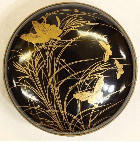 2-148japanese gold lacquer,makie