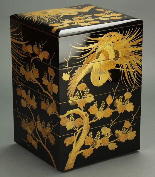 2-112japanese gold lacquer,makie