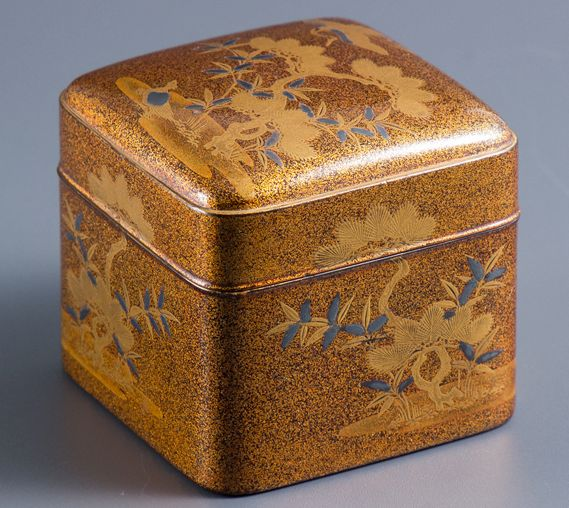 2-67japanese gold lacquer,makie