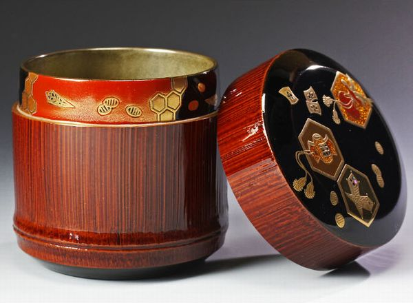 japanese gold lacquer,makie5-135