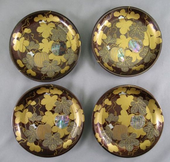 japanese gold lacquer,makie4-258