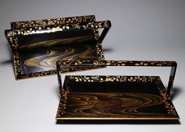 japanese gold lacquer,makie4-186