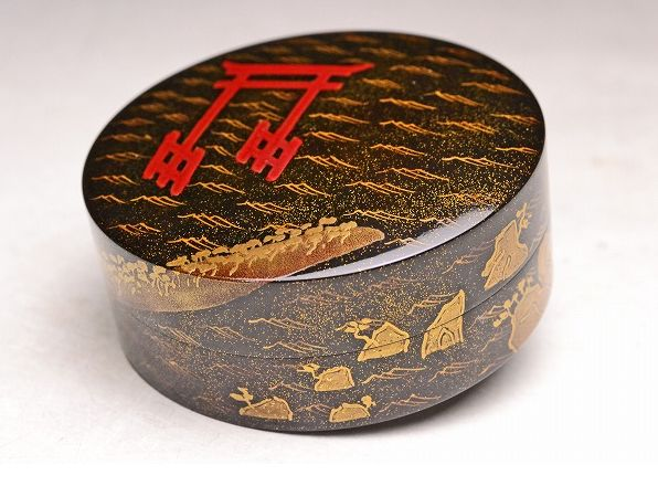 japanese gold lacquer,makie4-150