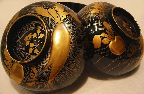 2-49japanese gold lacquer,makie