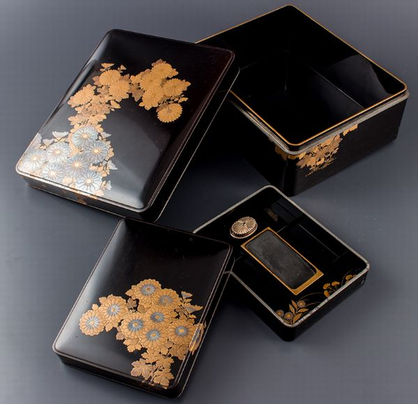 2-288japanese gold lacquer,makie