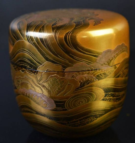 2-192japanese gold lacquer,makie