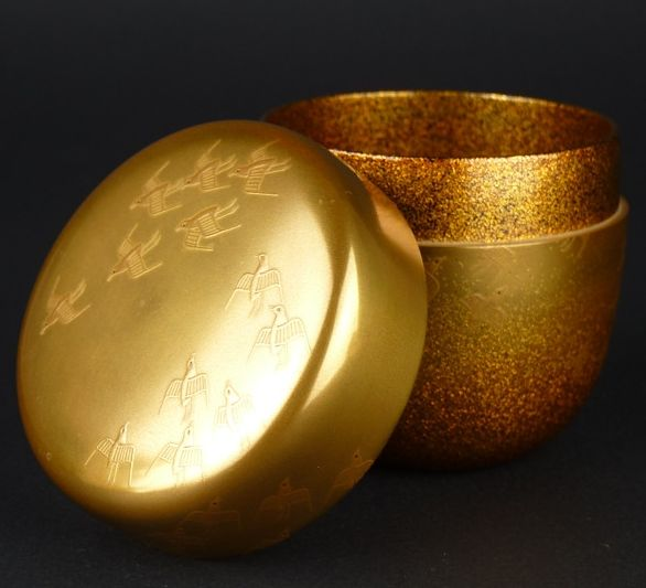 2-115japanese gold lacquer,makie