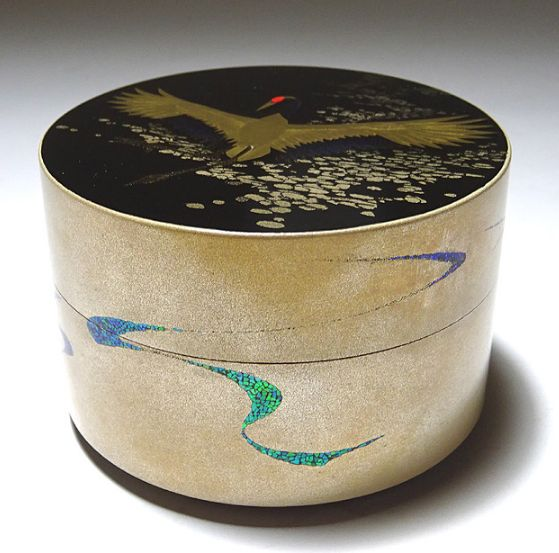 2-107japanese gold lacquer,makie