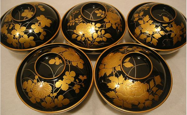 japanese gold lacquer,makie5-154