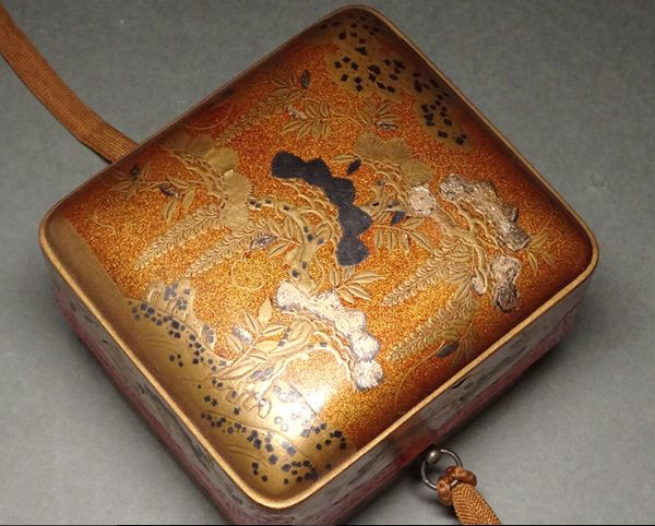japanese gold lacquer,makie5-121