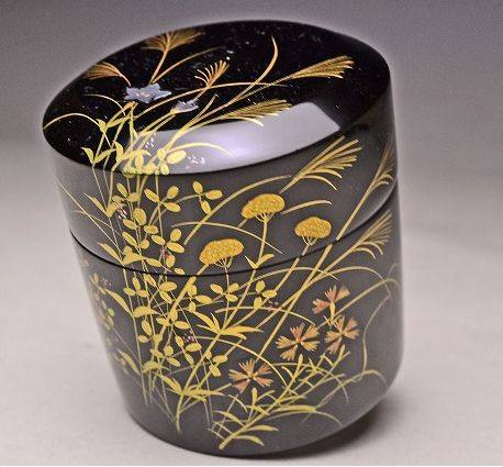 japanese gold lacquer,makie5-20