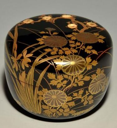 2-193 gold lacquer,makie