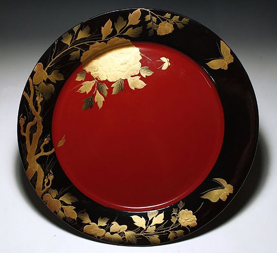 2-290japanese gold lacquer,makie